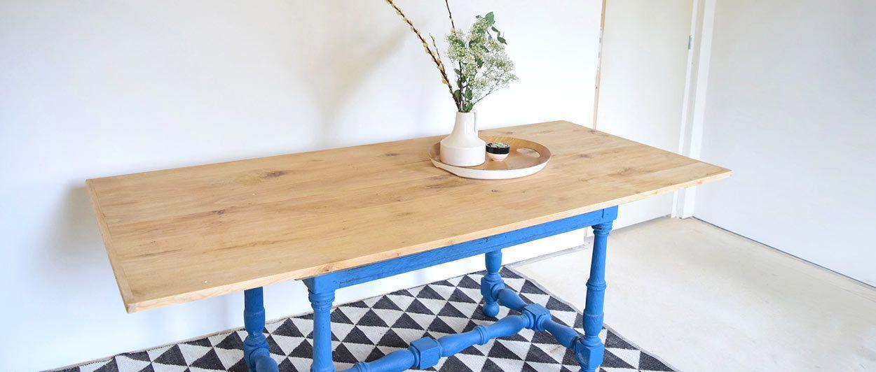 Diy Relooker Une Table Rustique Relooking De Meuble