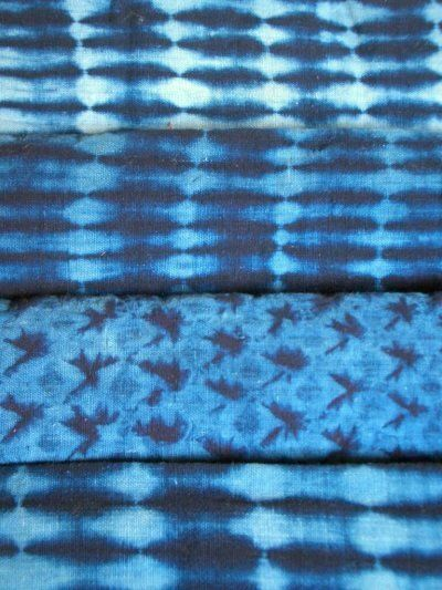 ZABUTON BLOGGING 3   ARIMATSU SHIBORI ・ 有松絞り    HOMESPUN, HANDWOVEN COTTON  VAT-DYED IN BOTANICAL INDIGO  手績み、手織り木綿、本藍染め  LATE 19C/EARLY 20C