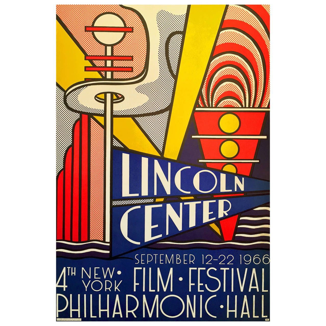 Pop Art Poster, 4th New York Film Festival at Lincoln Center by ...