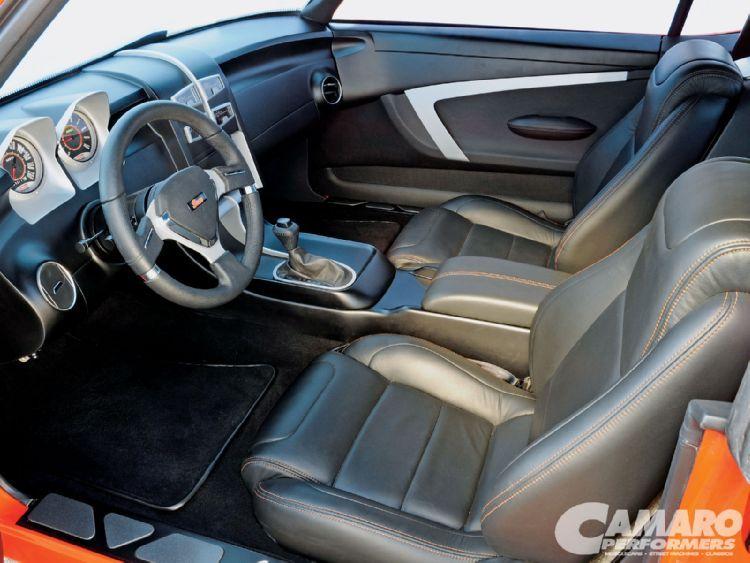 Interior Of Scar Vintage Trucks Chevy Camaro Chevy