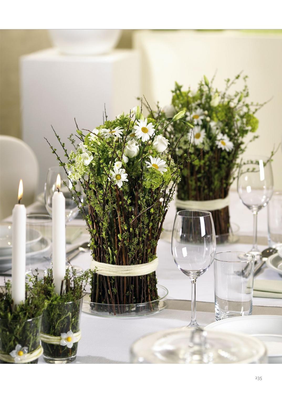 Tischblumen Leseprobe Hochzeitsdekoration Blumengestecke Und