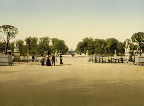 The Tuileries and Champs-Elysees, Paris, 1900, by  20x200 Artist Fund - 20x200 (from $24)