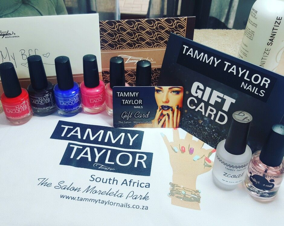 Christmas gifts at Tammy Taylor Nails Moreletapark