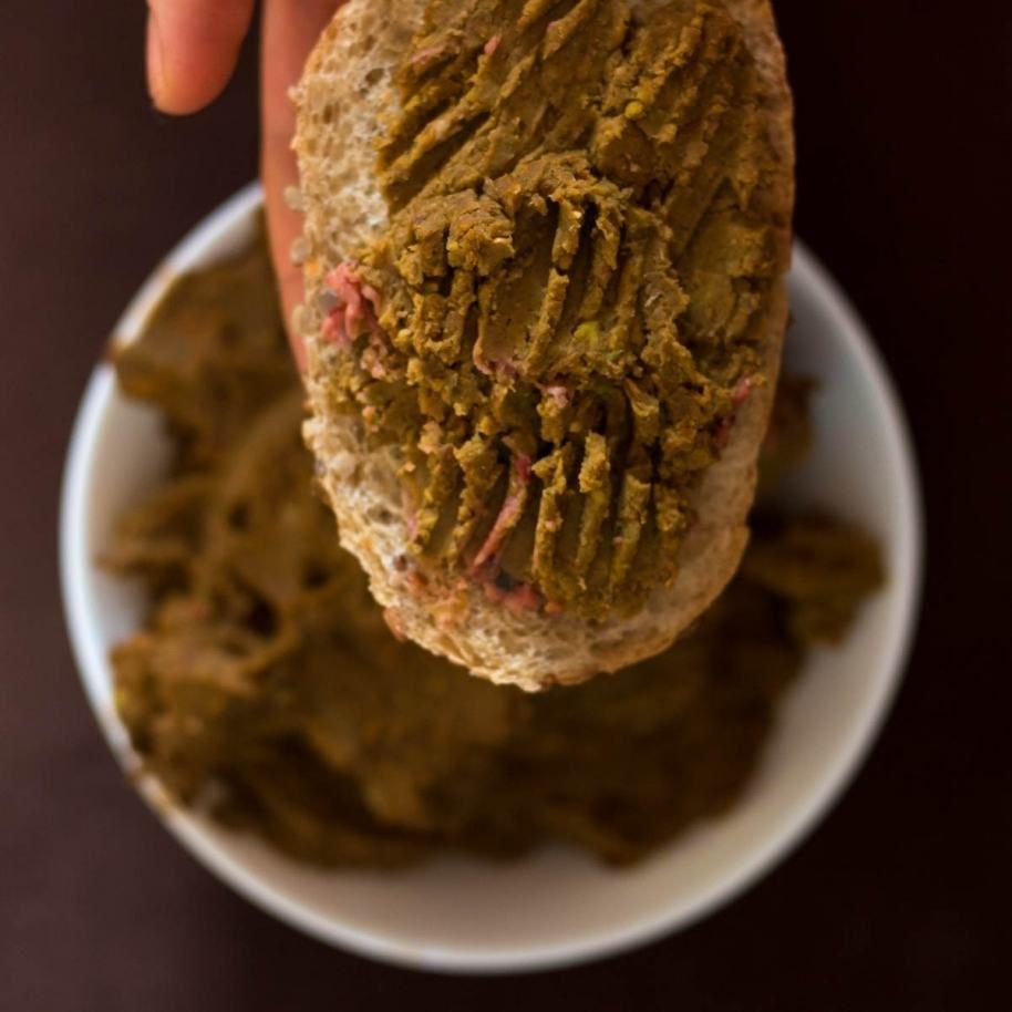 pasta z soczewicy na kanapki
