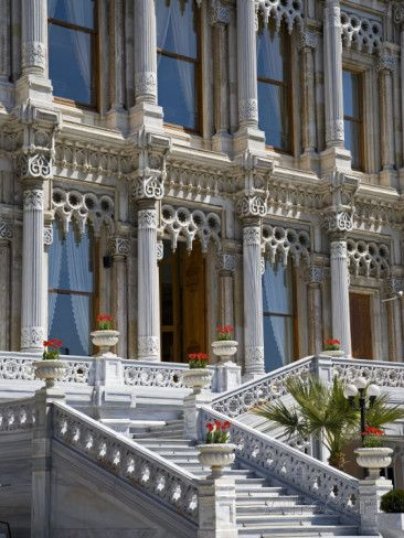 The former ottoman ciragan palace on the european shore of for Santa ottoman hotel