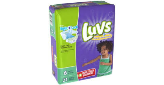 graphic about Luvs Printable Coupons referred to as Walmart: Luvs Diapers simply $4.47 w Printable Coupon