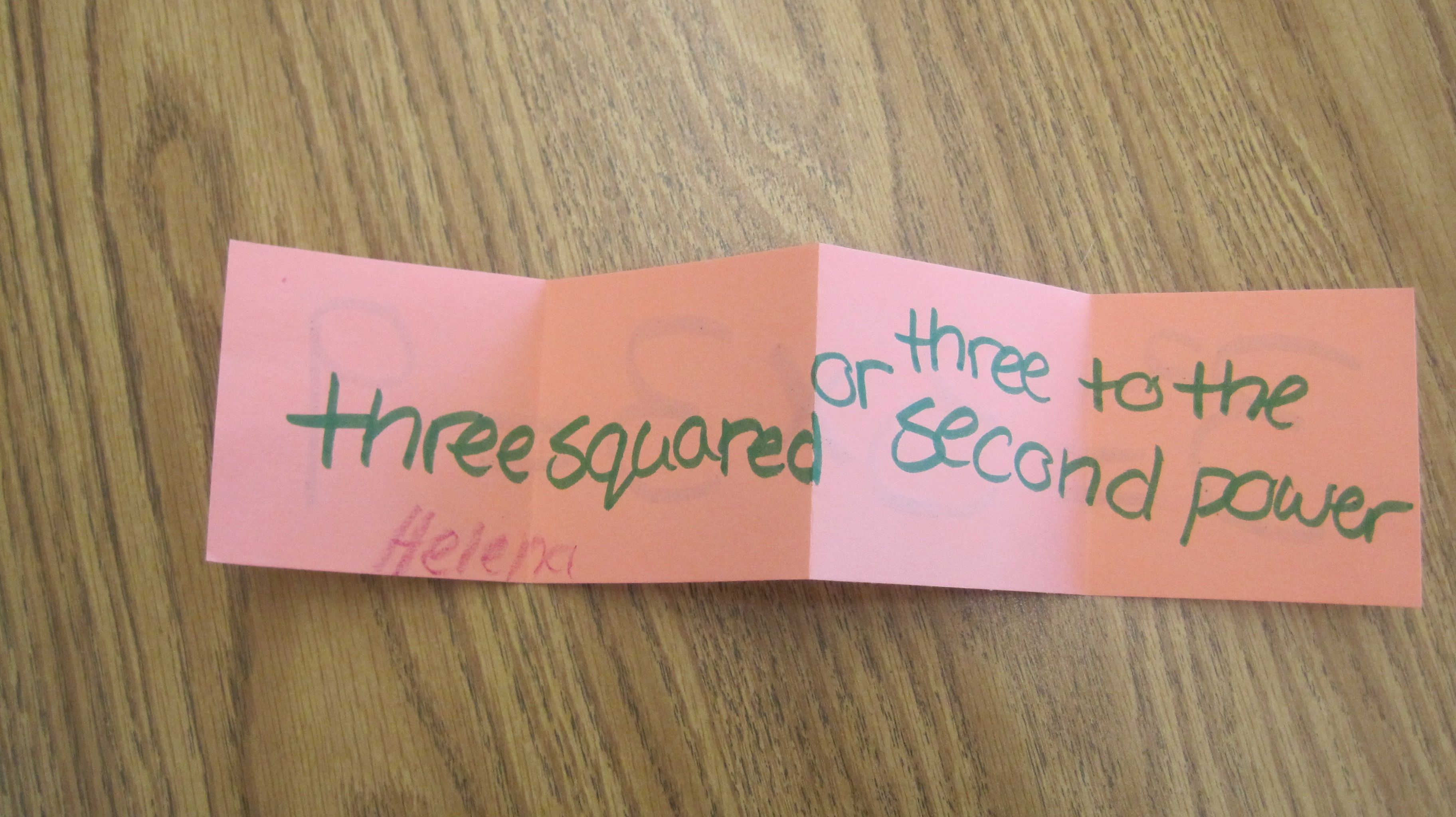 Exponent Foldables With Images