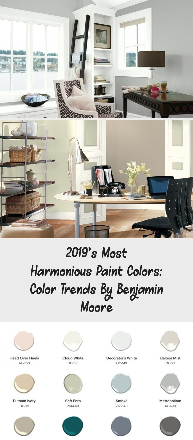 2019 s most harmonious paint colors color trends by on home office color trends id=45518