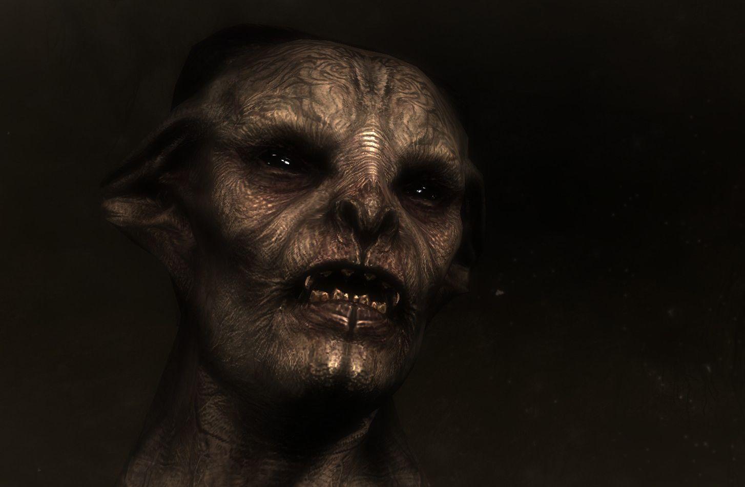 Skyrim Vampire Lord Re Texture Mattypoo Skyrim Skyrim Vampire