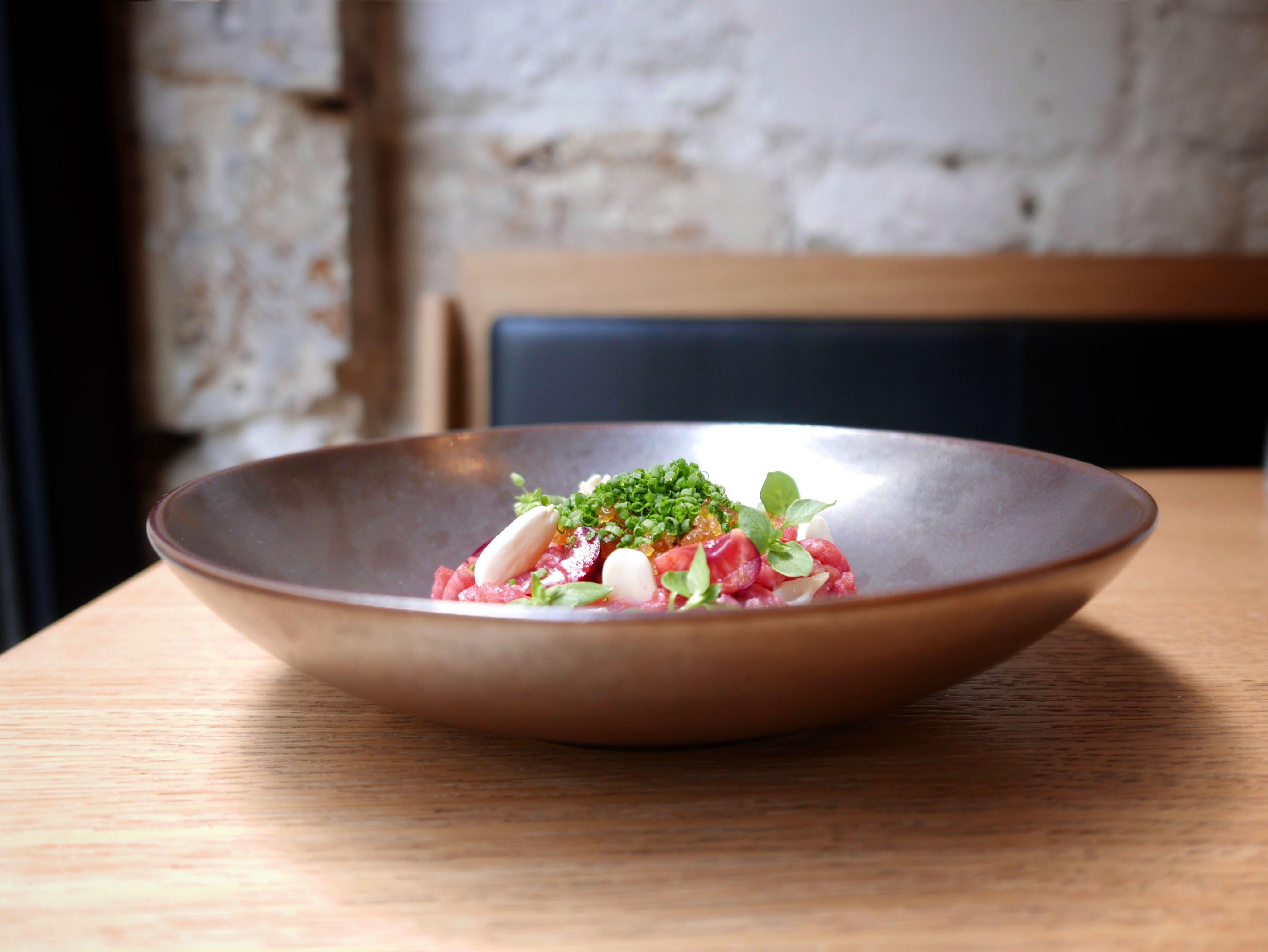 Saturne is the gastronomic nordic restaurant in Paris of chef sven chartier
