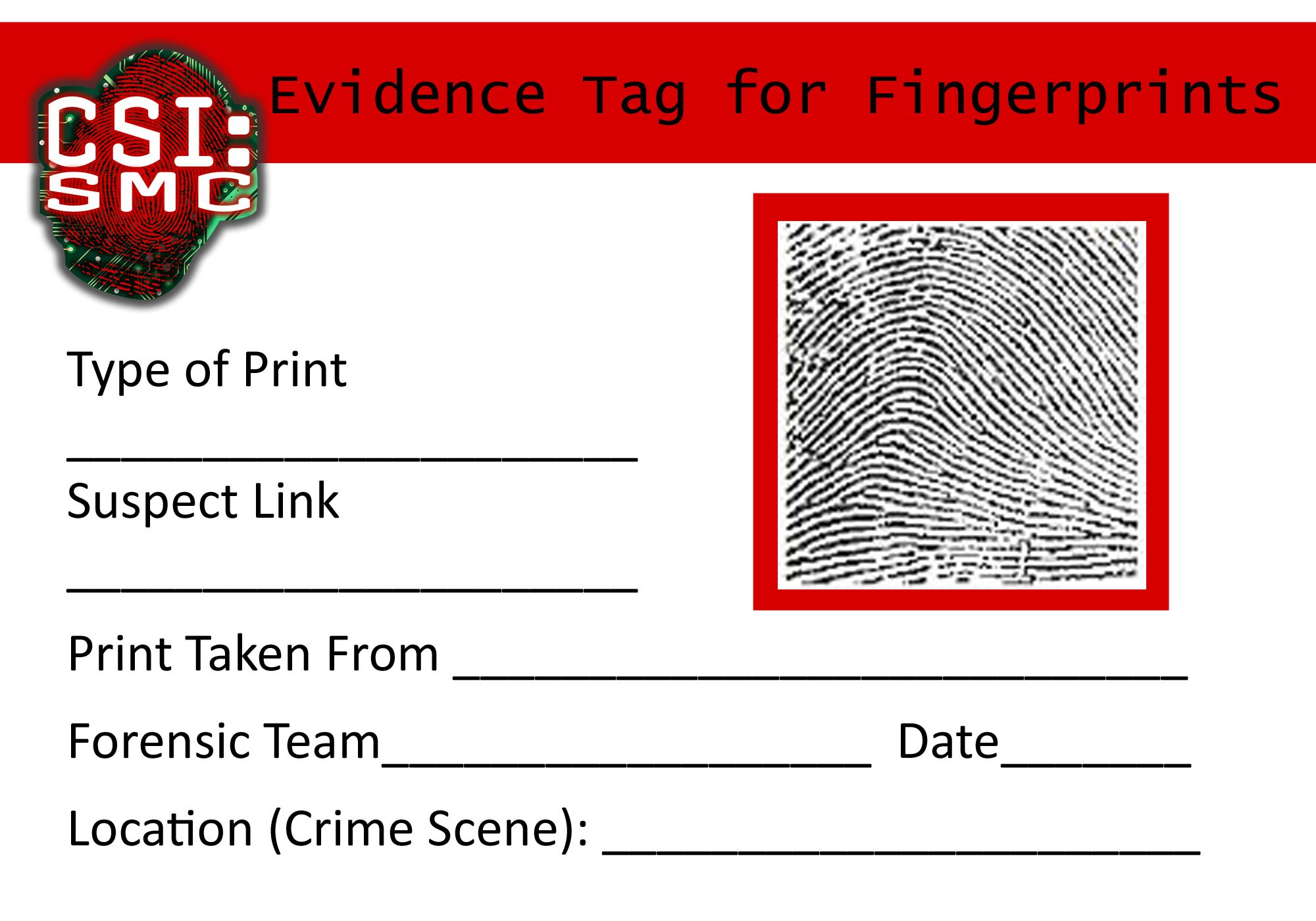 Suspect File Template Recherche Google Csi Pinterest