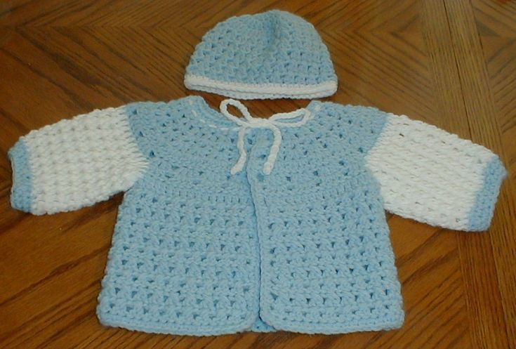 15 Free Baby Sweater Crochet Patterns | Crochet for little girls ...