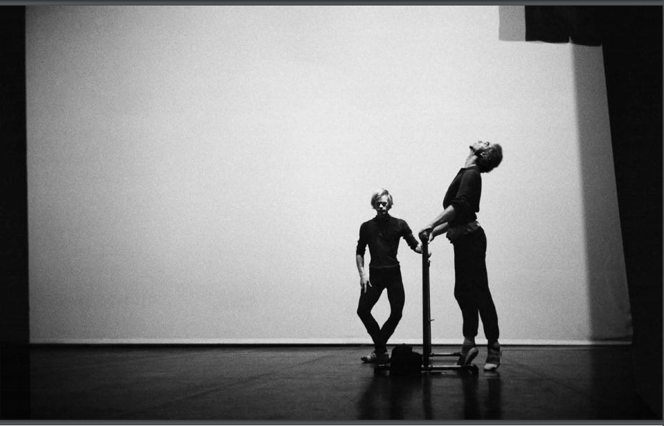 twyla tharp and mikhail baryshnikov.   Mikhail baryshnikov