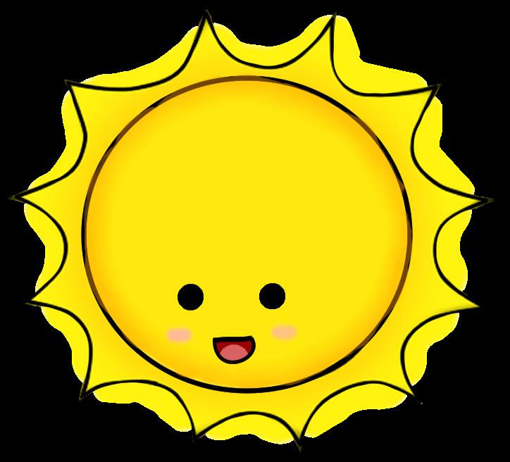 Dibujo Del Sol Sin Cara Buscar Con Google Art Sun Clip Art Cute Sun