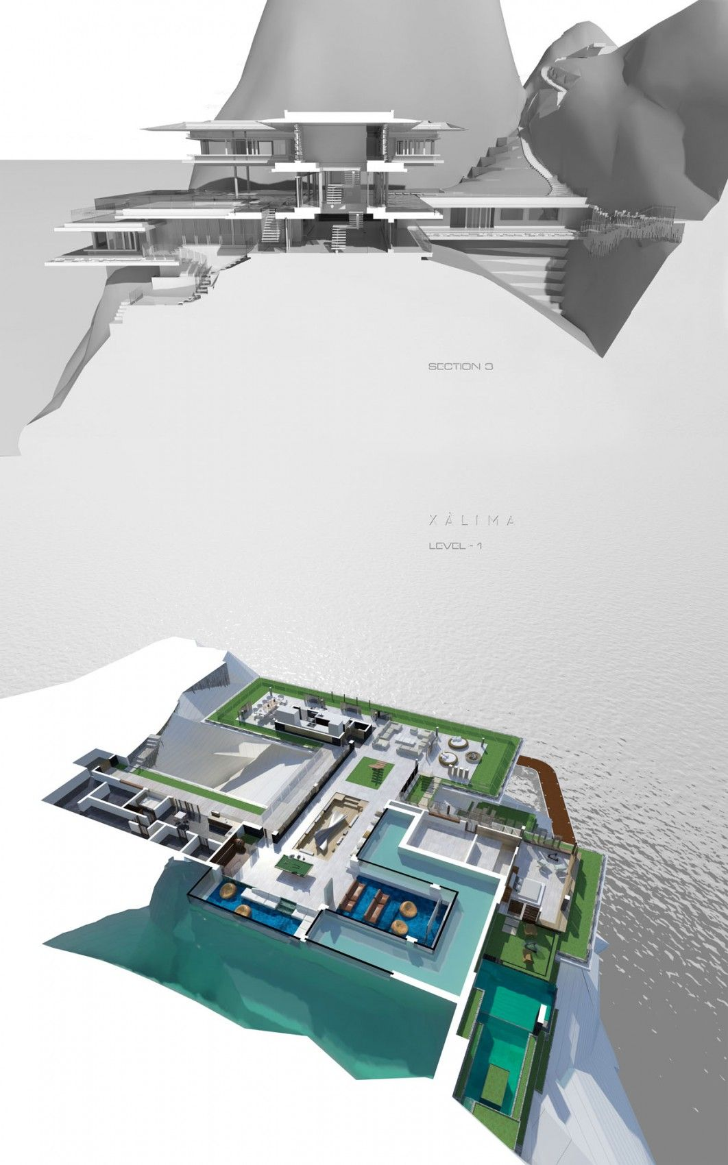 Xalima vision of a dream home: xalima island housemartin ferrero