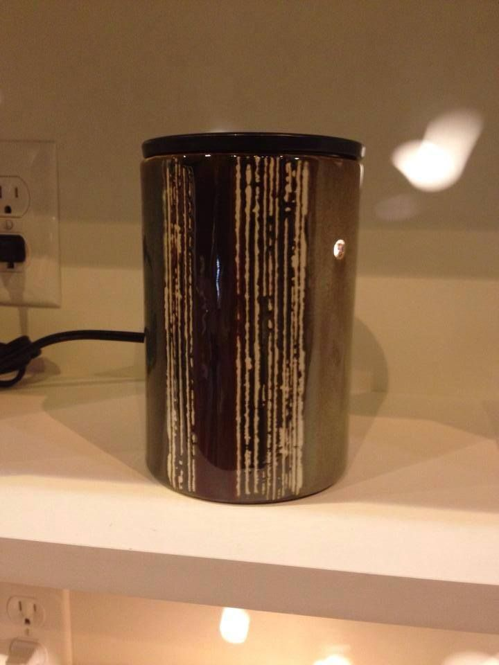 Scentsy Fall 2014 Brushstrokes 6 Tall Deluxe Warmer 3000
