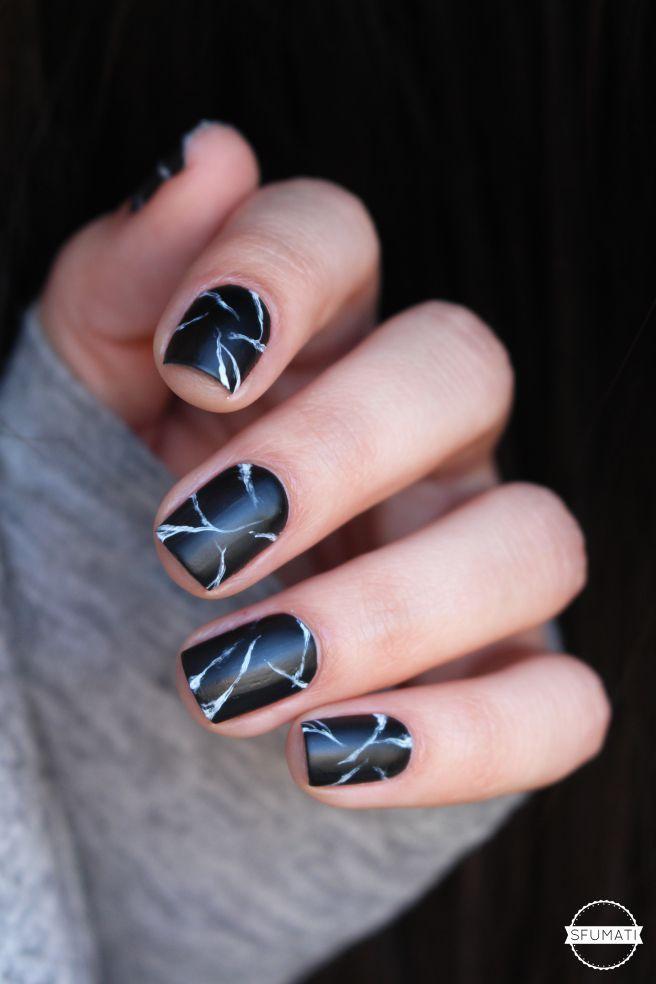 Nailstorming: marbre noir | Manicuras, Arte de uñas y Diseños de uñas