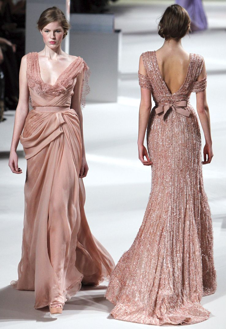 Elie Saab Haute Couture Collection is mix between romance and ...