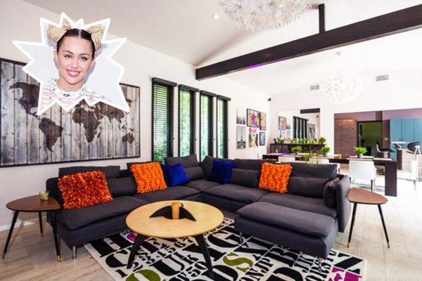 Dnevne sobe bogatih i slavnih slika | Uređenje doma