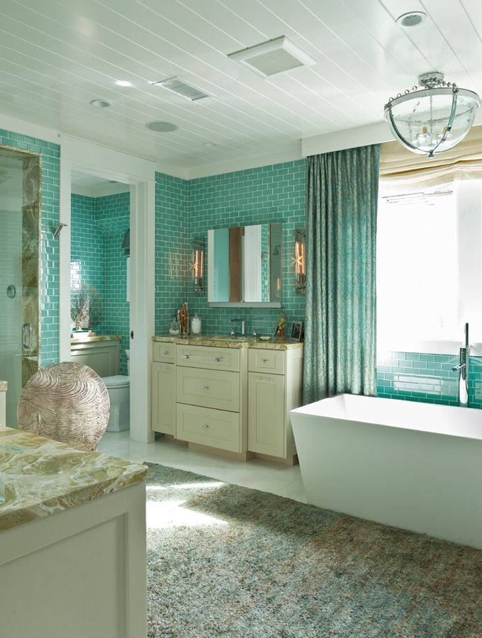 Little Balboa Island   Beach Style   Bathroom   Orange County   Anne  Michaelsen Design