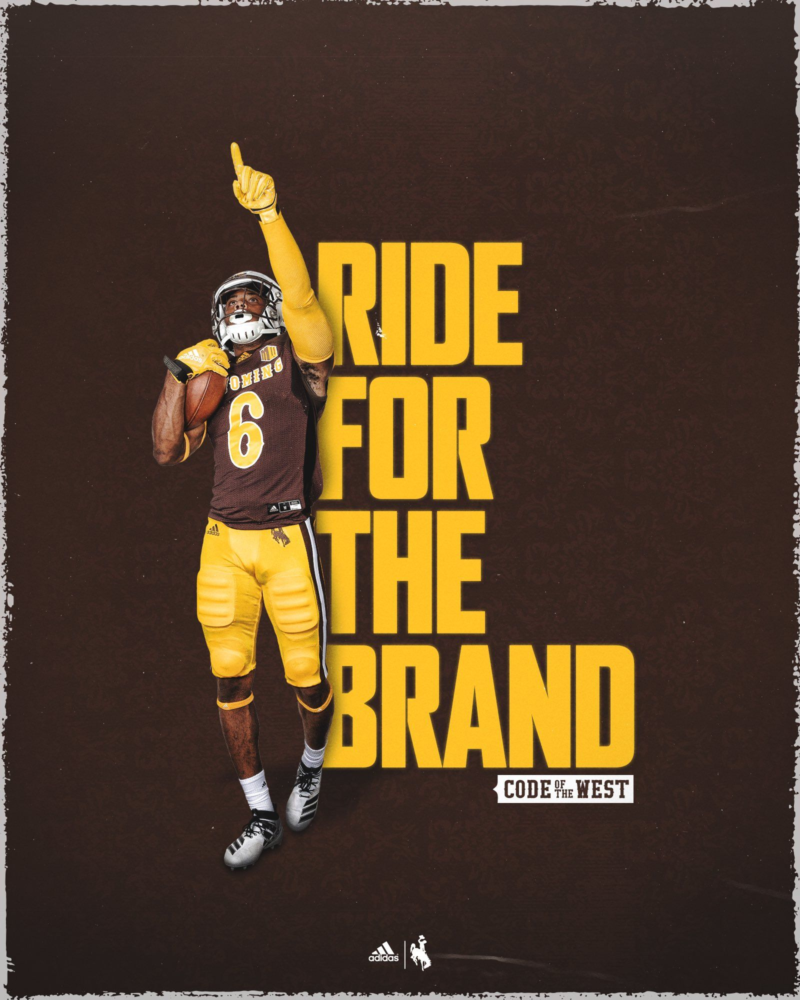 Wyoming In 2020 Sports Design Inspiration Sports Graphic Design Football Design