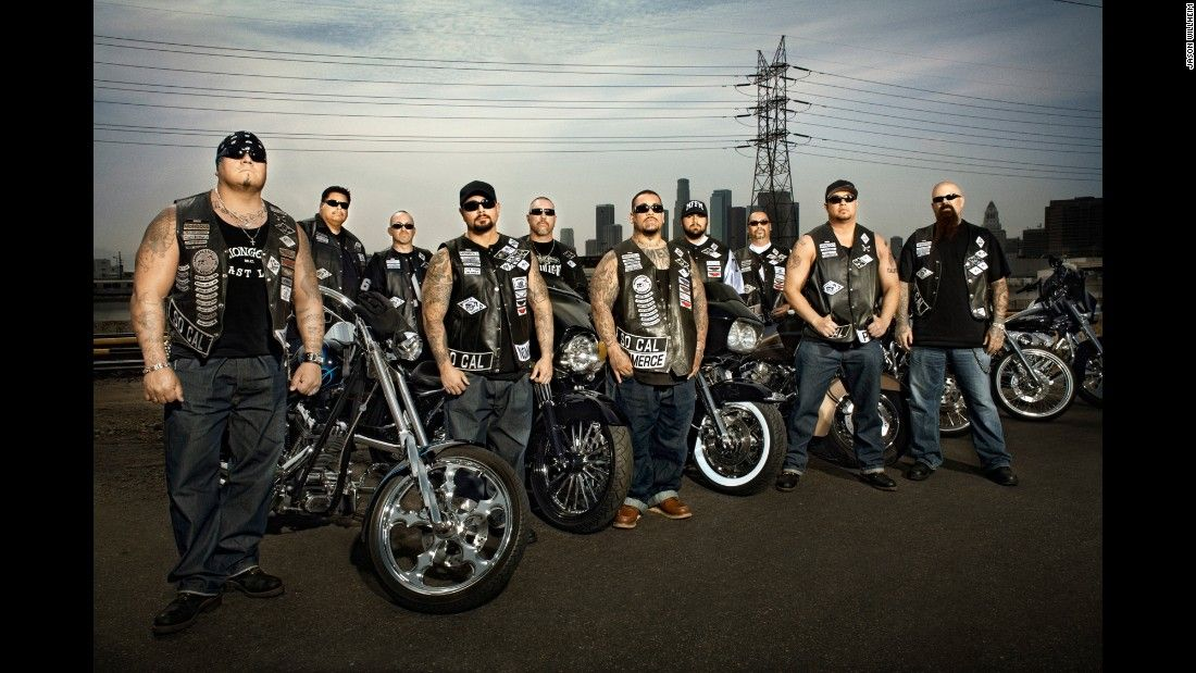 On The Road With The Mongols Motorcycle Club