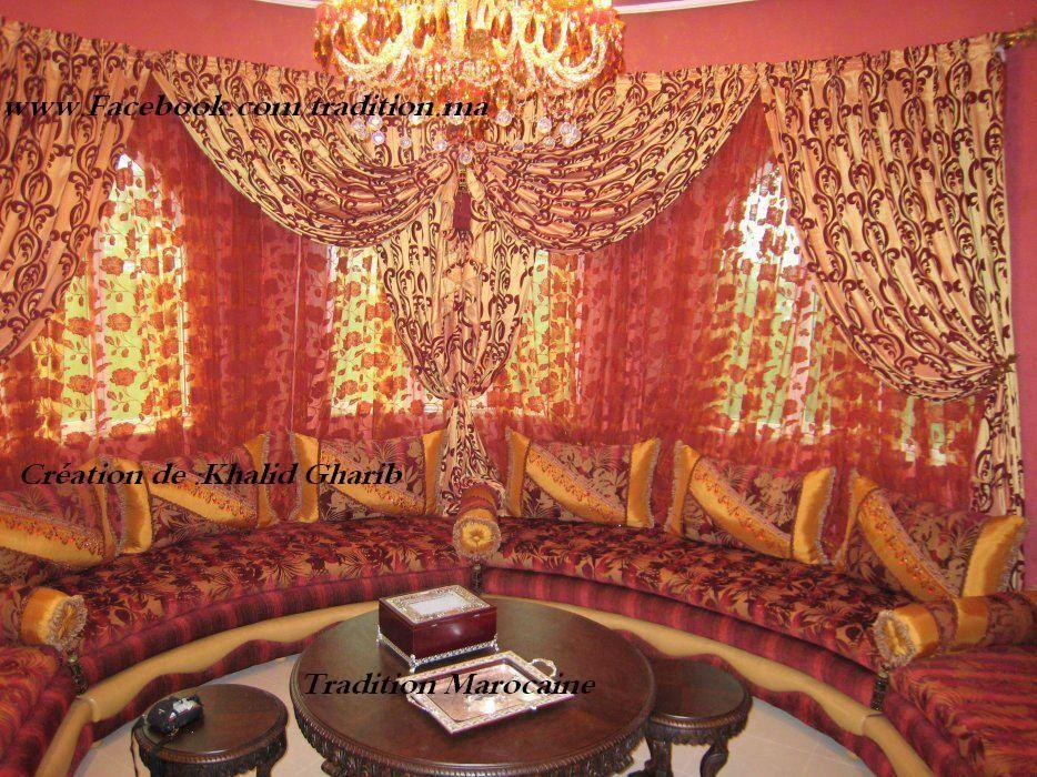 Salon Marocain Sedari Moroccan Living Room Design
