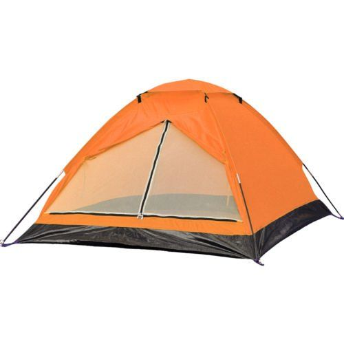 Orange 2 Person C&ing Hiking Backpack Light Dome Tent Sun Shade Beach Shelter ** Check  sc 1 st  Pinterest & Orange 2 Person Camping Hiking Backpack Light Dome Tent Sun Shade ...
