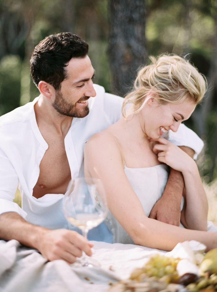 A Relaxed Couple Shoot In Provence  – Once Wed