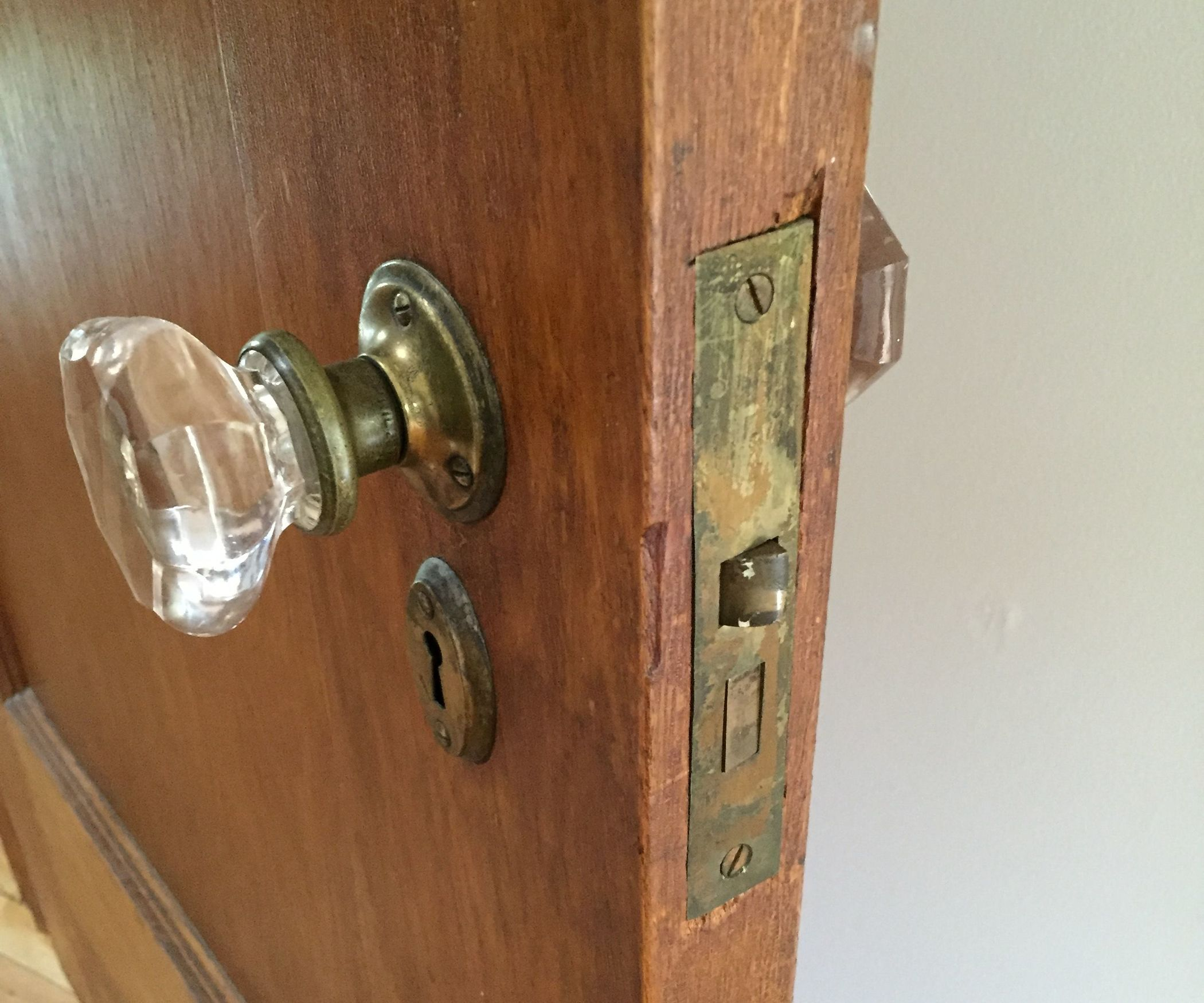 Fix a Broken Doorknob Latch With a Rubber Band | Mortise lock ...