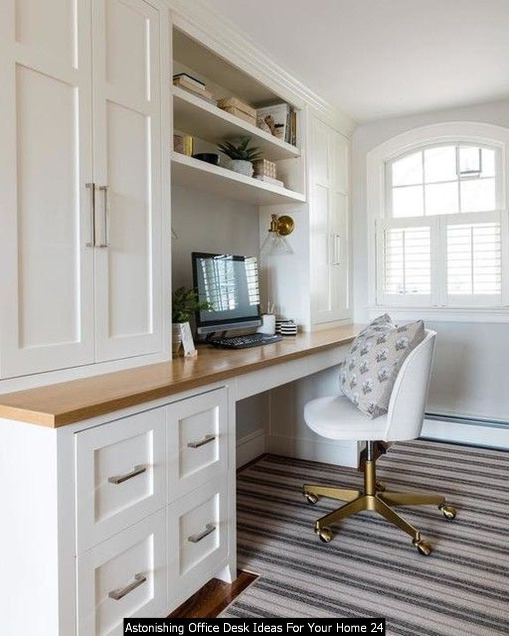 20 Astonishing Office Desk Ideas For Your Home