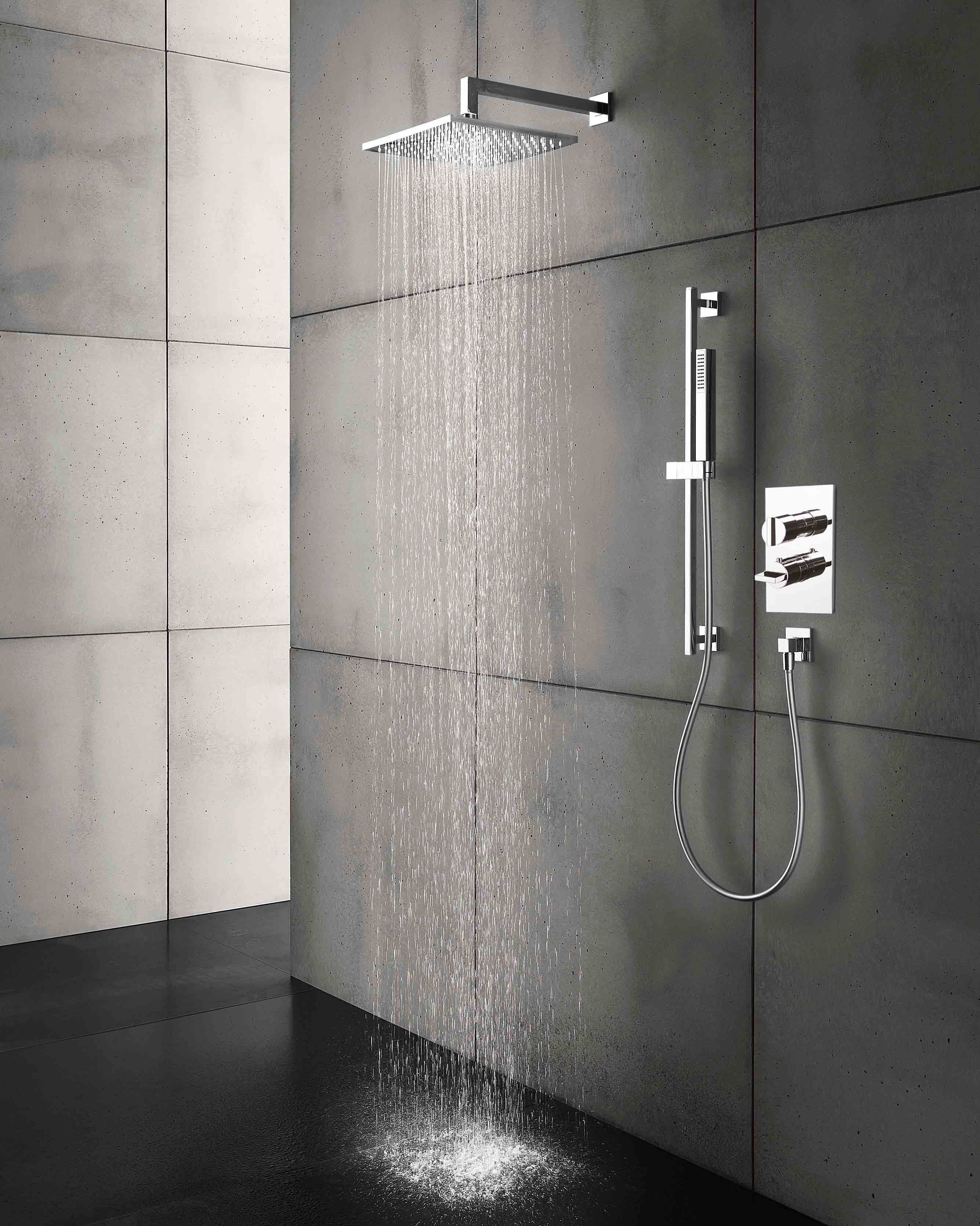 Thermostatic Tub/shower Valve Trim With 2 Way Diverter. Set Your Desired  Temperature