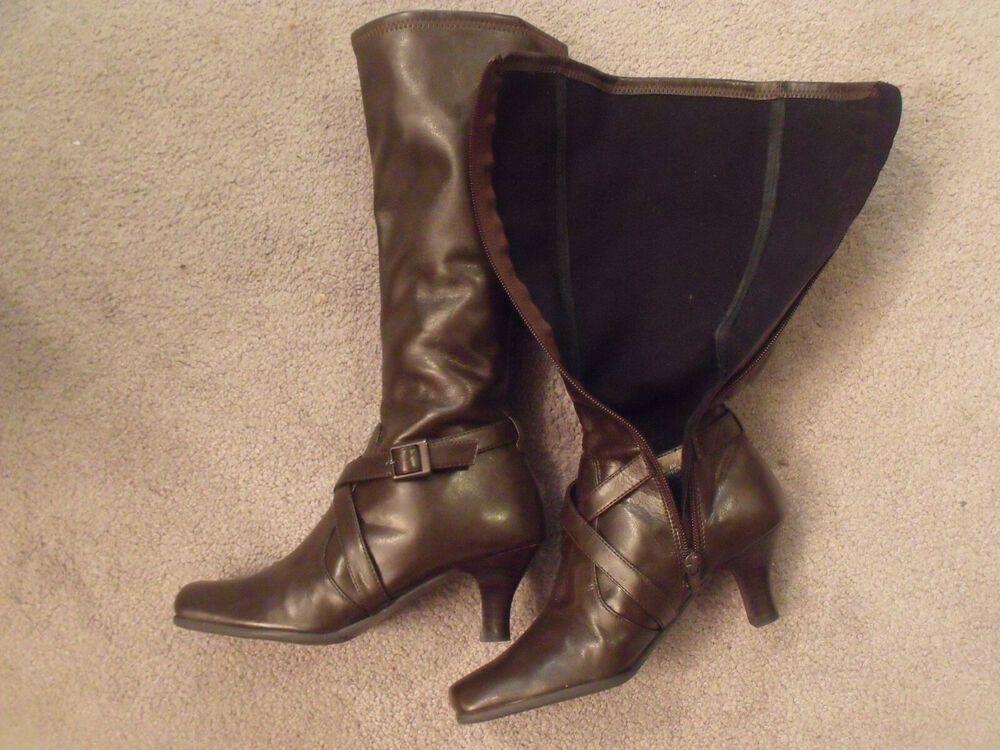d21601d3f80d Kenneth Cole Reaction Black Leather Boots Size 6