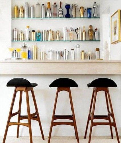 Luxury Shaker Style Bar Stools