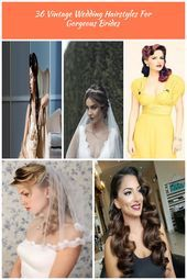 From 20s Gatsby style and sensational 60s chignons to retro 50s rolls vintage w  weddingringscushion