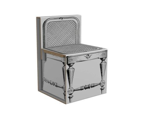 sedia luigi xvi - 49X75X51 cm | Display | Pinterest | Luigi
