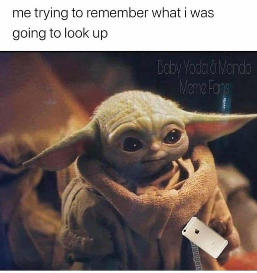 21 Baby Yoda Memes To Warm Your Cold Heart In 2021 Yoda Funny Yoda Meme Yoda