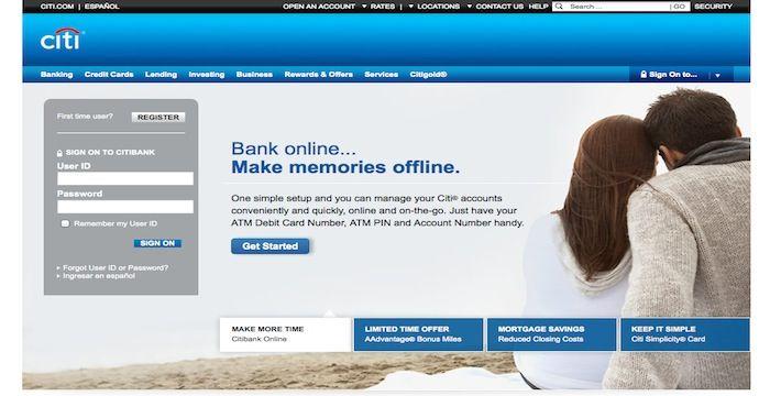 Citibank Login
