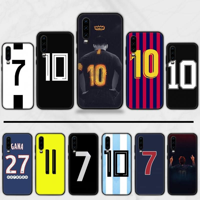 Football number soccer messi High Quality Phone Case For Huawei P9 ...