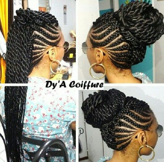 Fabulous Side mohawk by Dy'A Coiffure | Hair | Pinterest | Mohawks, Hair  JE62