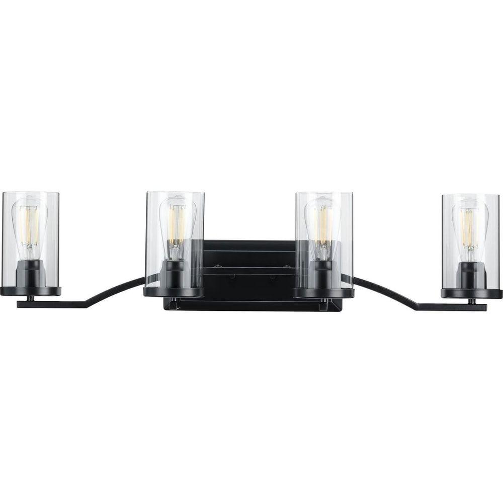 Photo of Lassiter Collection Black Four-Light Bath (60 W – 4 Lights), Progress Lighting