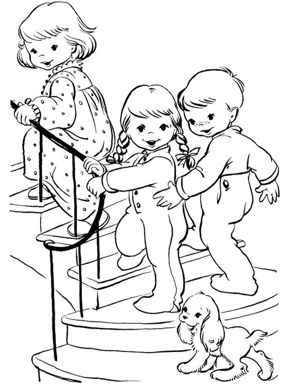 christmas eve coloring pages | Christmas Eve Coloring Pages Room | The Child Christmas ...
