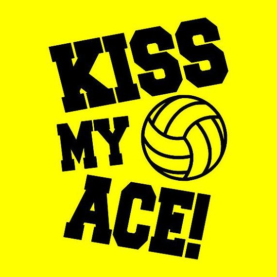 Kiss My Ace Volleyball Shirt With Graphic By Starkiestees On Etsy Volleyball Shirts Volleyball Shirt Volleyball Mom