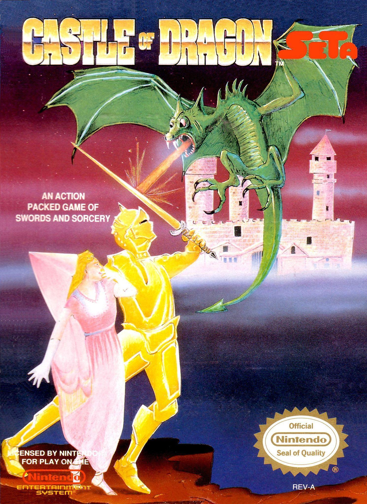 Castle of Dragon (Nintendo Entertainment System, NES, 1990 ...