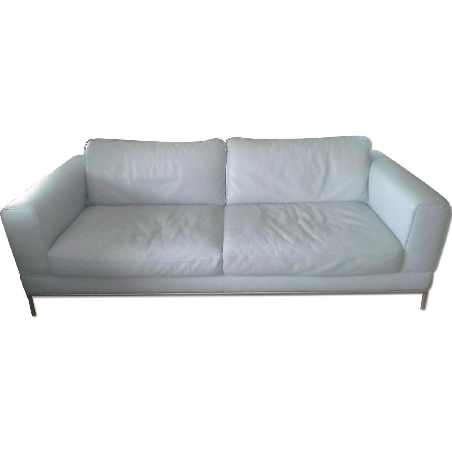 Ikea Arild Leather Sofa Home Sell Used Furniture Leather Sofa Sofa