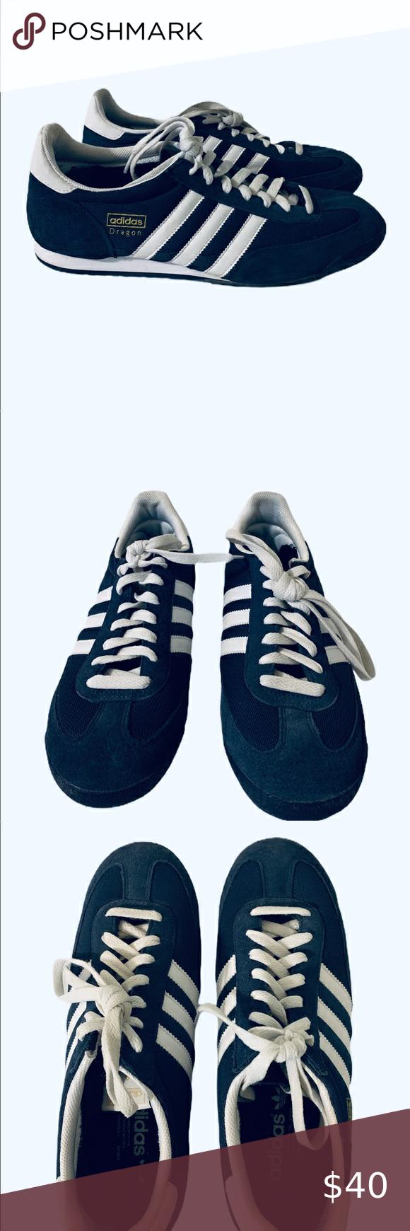 Adidas Dragon navy blue men's sneakers   Adidas dragon, Sneakers ...