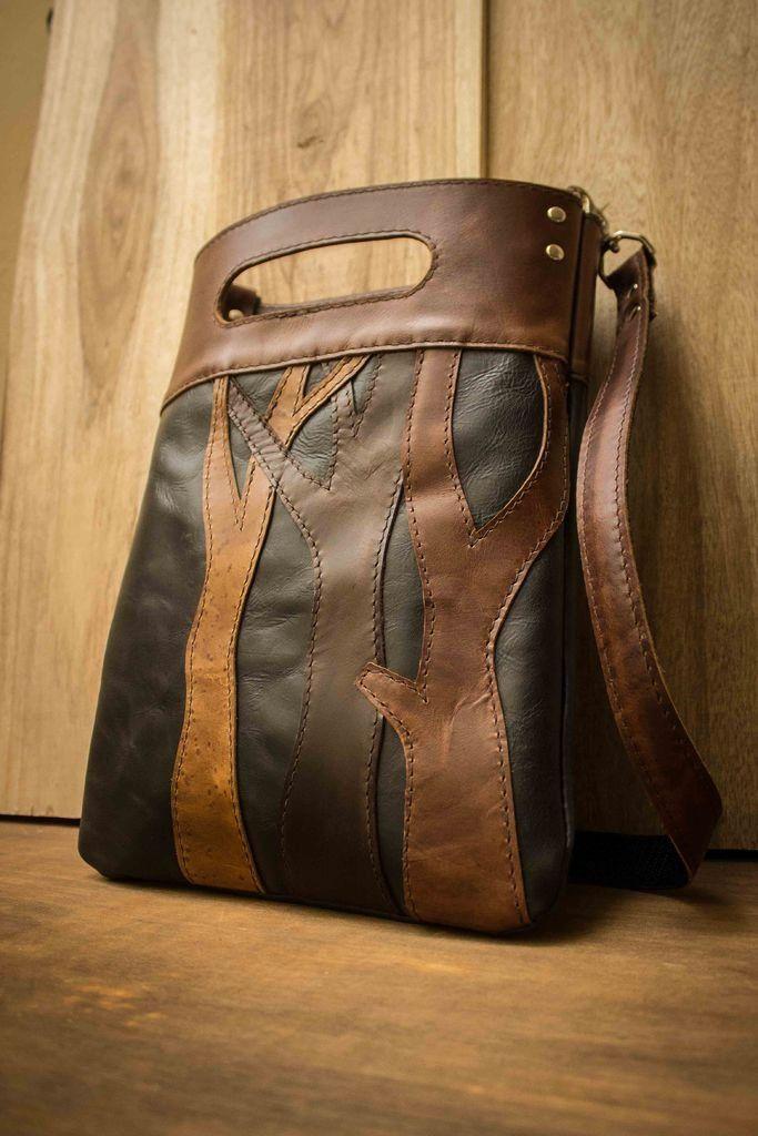 Кожаная сумка своими руками (164) 69