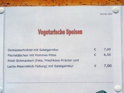 Homeveganer: In Österreich ist sogar Fisch vegetarisch :-)