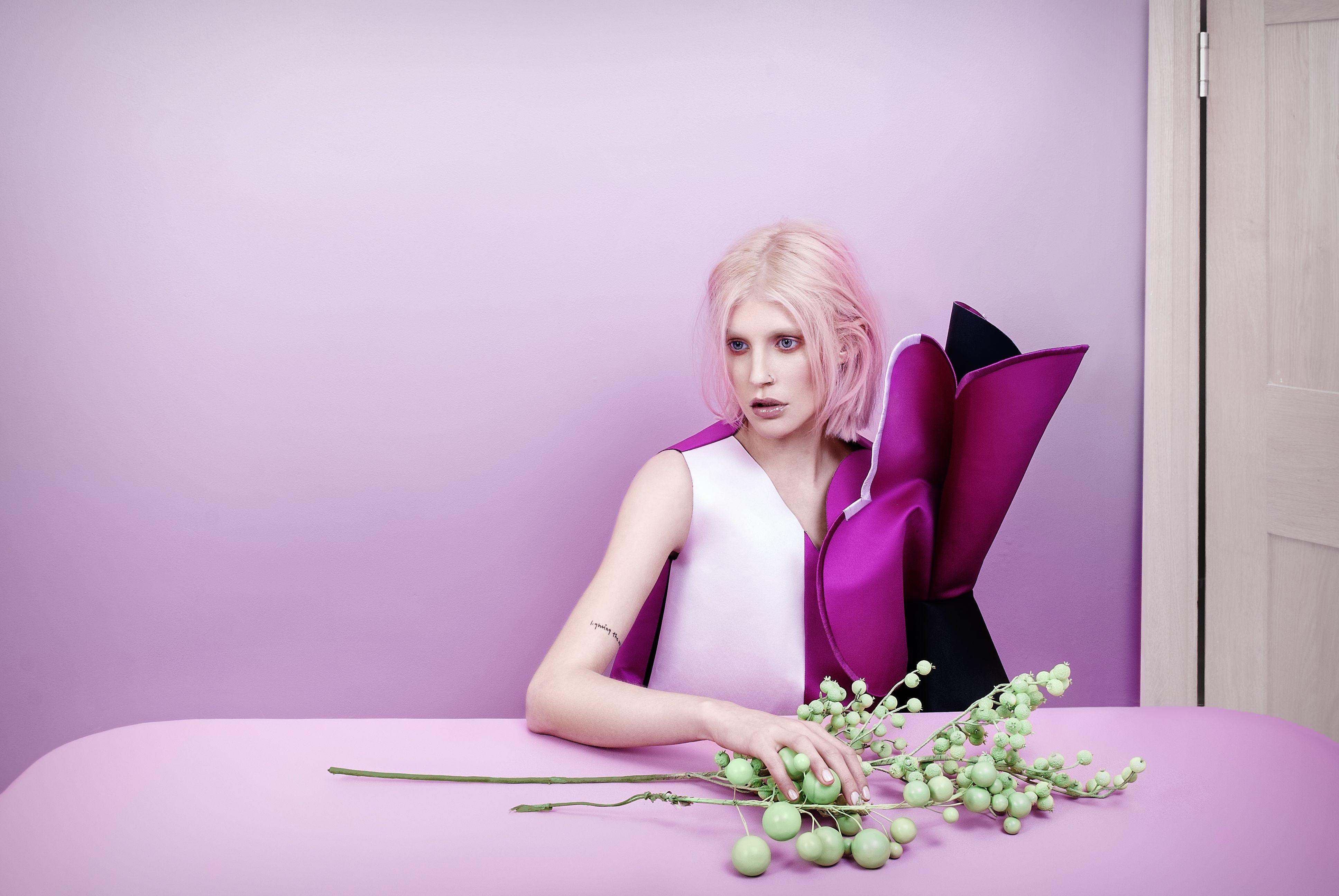 Flowers for fashion editorial. Old Tat Magazine - Issue 2 Photography Tussunee Roadjanarungtong Styling: Carolina Mizrahi. Flowers and props; Yan Skates