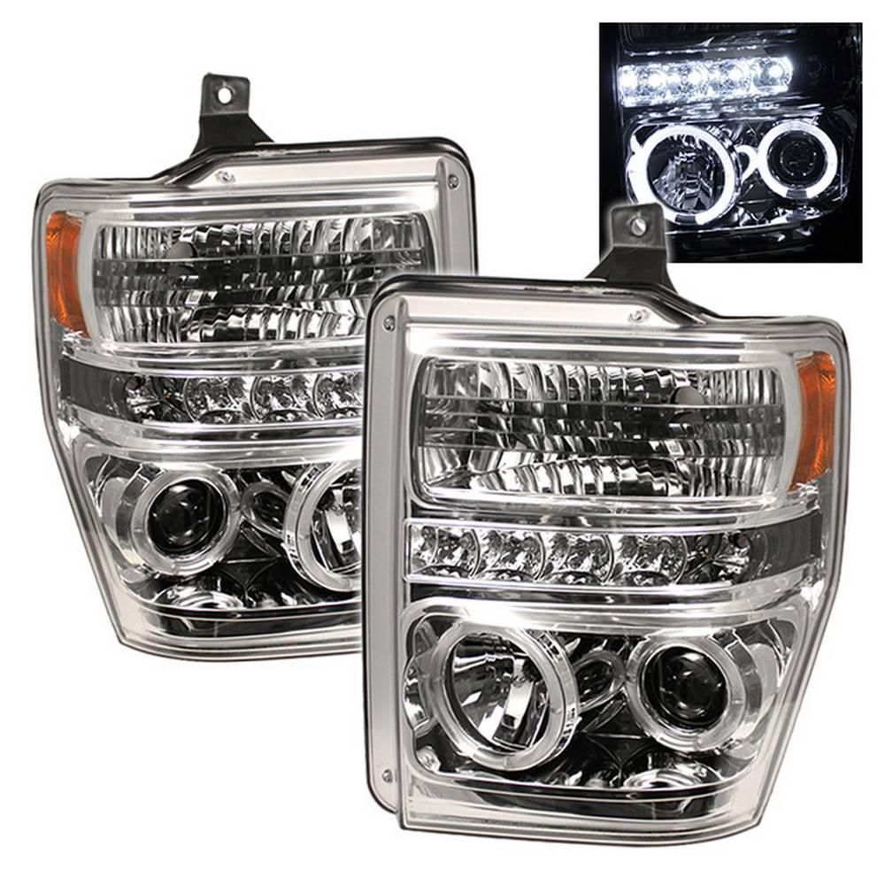 Ford F250/350/450 Super Duty 08-10 Projector Headlights